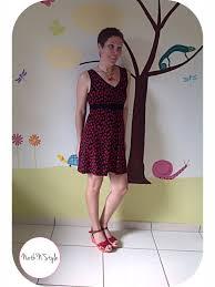 Knit Dress Pattern Fascinating Jalie 48 Knit Dress Pattern Sewing Patterns