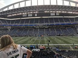 Seattle Sounders Centurylink Field Seating Chart Centurylink Field Section 209 Seattle Seahawks