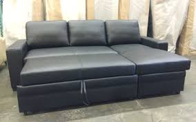 Luxury Leather Sectional Sofa Bed 62 In Living Room Sofa Inspiration