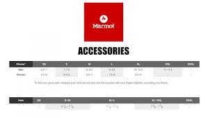 Marmot Size Chart Us Size Chart Marmot