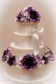 Purple Wedding Cake Dessert Table Cake By Cupcakes By Amanda