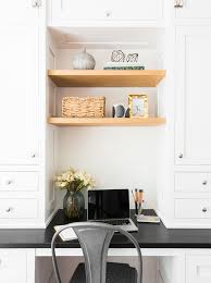 Office in kitchen Scandinavian Of 20 Houseandhome 15 Small Office Nooks That Work Hard