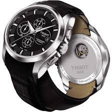 men s tissot t035 627 16 051 00 watch authorised dealer men 039 s courturier automatic chronograph watch