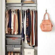 platinum elfa classic closet with mesh drawers