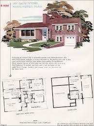 Modern Split Level House Plan from National Plan Service     National Plan Service   No  E