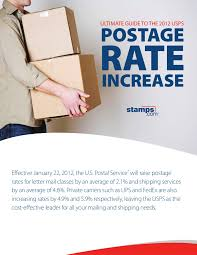 Usps Package Rates Chart 2015 Ultimate Guide To 2012 Usps Postage Rate Increase