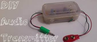 picture of wireless audio transmitter