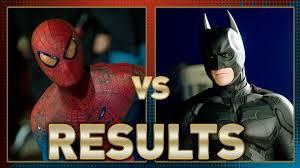 spiderman vs batman fanboy faceoff results batman iron man fanboy