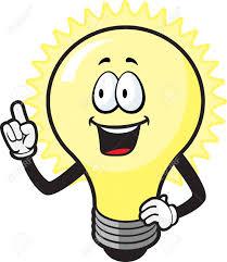 Image result for cartoon light bulb