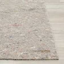 safavieh durapad grey 8 ft x 10 ft non slip hard surface rug