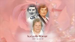 Obituary for Iva Lucille Warner | Kenworthy Funeral Home, Inc.