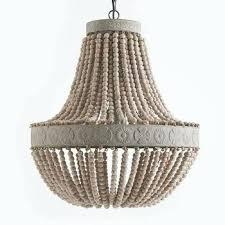 how to make beaded chandelier wooden beaded chandelier gorgeous wood bead chandelier for lighting diy beaded