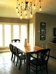 attractive dining table lighting ideas 2 crystal chandelier room modern winsome lier over what size liers