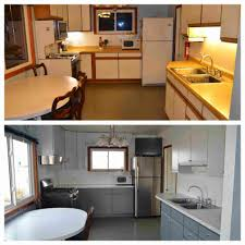of melamine before and after rhcertheroorg fresh painting laminate kitchen cabinets before and after gallery of