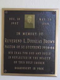 l douglas brown