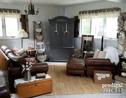 affordable area rugs. Farmhouse Family Room With Natural Jute Area Rug | Affordable Rugs Featured By Prodigal Pieces