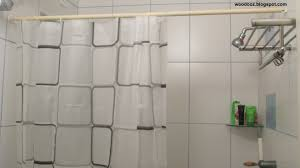 how to install a curtain rod without drilling on wall
