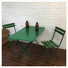 green french vintage garden table set