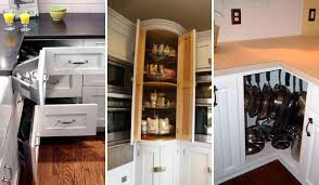 Especially you are happened to have an L- or U-shaped kitchen, how to do  with that corner cabinet ...