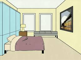 simple bedroom drawing. Drawing Easy Simple Bedroom Perspective Room E In Inspiration Hand Rendering Interiors Point Of A B
