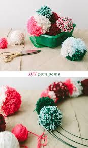 diy pom poms #ziploc #holidaycollection