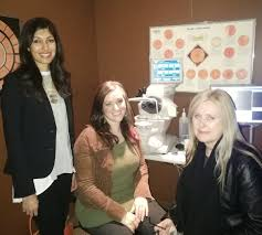 """Jennifer French on Twitter: """"Thank you Dr. Reena Sud for the tour & the  education about #eyehealth & best outcomes during #OptometryWeek!… """""""
