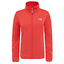 Buy The North Face W Tanken Full Zip Jacket Cayenne Red