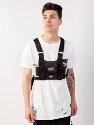 Men's <b>bag BS&ARMY FLAG</b>, black - BlackStar Wear