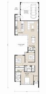 single story house plans in australia best of single story narrow lot house plans 1985 most
