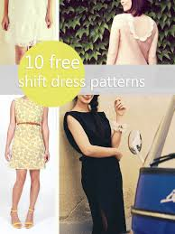 Dress Patterns Free Unique 48 Free Shift Dress Patterns For Work And Play Craftfoxes