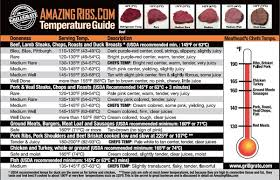 Grilling Temperature Chart Amazingribs Meat Temperature Guide Might Just Save Your