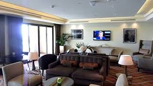 One Bedroom Suite Palms Hd Fairmont The Palm Gold Lounge Tour Youtube