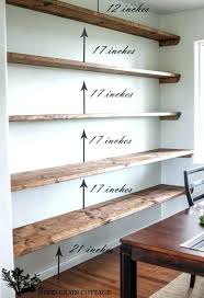 extra long floating shelves best floating shelves images on kitchen cupboards impressive shelves for storage style