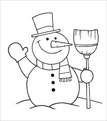 Template Of A Snowman Snowman Template Snowman Crafts Free Premium Templates