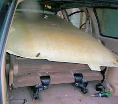 1999 plymouth voyager or dodge caravan headliner repair and 1999 plymouth voyager or dodge caravan headliner repair and installation