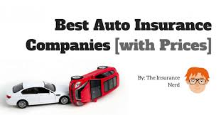 Car Insurance Companies Quotes Simple Best Car Insurance Companies 48 [Reviews And Quotes] The