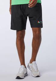 Nb <b>sport style optiks short</b> - black New Balance Sweatpants & Shorts ...