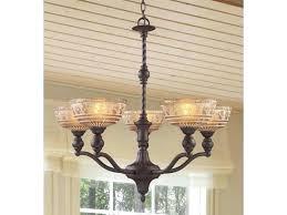5 light antique bronze chandelier hampton bay carina aged renae oil rubbed elk lighting in oiled wi