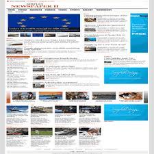 Simplex Newspaper Ii Blogger Template Dhetemplate