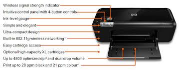 Features of HP Deskjet 5560