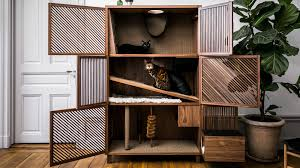24Storage <b>Cat Flat</b> Bespoke Feline House looks like a gorgeous ...