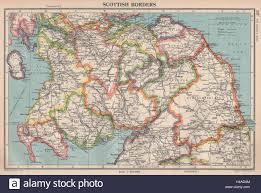 Scottish Borders Scotland South Bartholomew 1944 Old