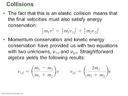 kinetic energy conservation 29 collisions
