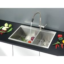 deep double kitchen sink l x w double basin drop in kitchen sink 9 inch deep stainless steel