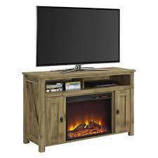 farmington electric fireplace tv console for tvs multiple colors and sizes com