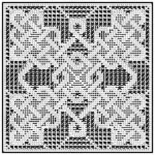 Filet Crochet Patterns Gorgeous Ravelry Celtic Square For Filet Crochet 48 Pattern By