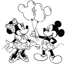 Minnie Mouse Color Halloween Minnie Mouse Printable Coloring Pages