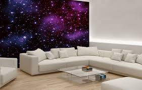 Wall Mural For Living Room Stars On The Sky Wallpaper Murals By Homewallmuralscouk