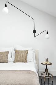 400 Highimpact Things To Hang Over Your Headboard Plus A Cool 40th Classy Bedroom Swing Arm Wall Sconces