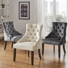 Image High Back Benchwright Ii Velvet Button Tufted Wingback Hostess Chairs set Of 2 By Inspire Overstock Buy Bohemian Eclectic Office Conference Room Chairs Online At